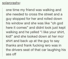 Why doesn't this happen to me?!