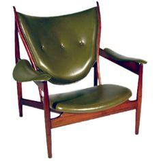 Finn Juhl's Chieftain chair, you gotta love mid-century Danish design
