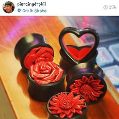 Go follow our very own  @piercingdrphil! He can help you with any of your piercing needs! #heshtags #bodymodification #bodyjewelry #plugs #OrbitSkate