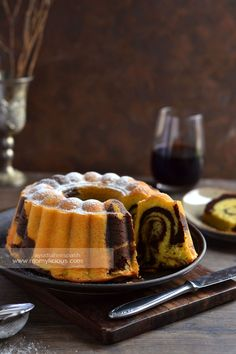Food photography, cake, cookies and Indonesian food. Marble Cake Recipes, Dessert Cake Recipes, Just Desserts, Marbel Cake, Indonesian Desserts, Indonesian Food, Bolu Cake, Japanese Cheesecake Recipes, Cake Oven