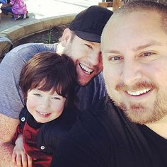 """Tori Spelling's """"Guncles"""" Bill Horn, Scout Masterson to Adopt a Second - Us Weekly"""