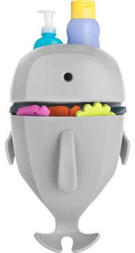Whale Pod, Bath Toy Scoop, Drain And Storage - contemporary - baby toys - Boon, Inc.