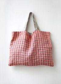 |Lino e Lina Diy Tote Bag, Reusable Tote Bags, Origami Bag, Diy Accessoires, Diy Bags Purses, Linen Bag, Fabric Bags, Market Bag, Casual Bags
