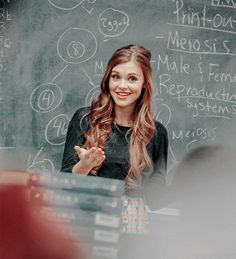 She is perfection. I have a feeling that she would be able to teach bio better than my teacher and we would have so much fun. She's so smart its not fair! Being a DOCTOR was her FALLBACK career choice.Specifically a cardio thoracic surgeon.
