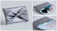 Love this Bow clutch DIY by Patty Doo!