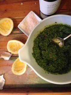 Oh my Goodness - Gluten Free Paleo Pesto!