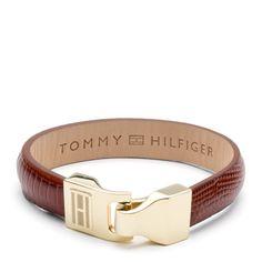 Tommy Hilfiger Leather Bracelet.