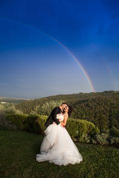 The Rainbow with Us... Info@ferraliweddingplanner.com