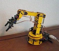 Robotic Arm Design Software Examine this robotic arm