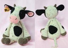 Amigurumi Vaca : Crochet pattern lulu the dairy cow pattern on etsy amigurumi