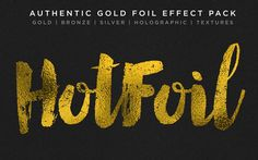 How to Add Gold Foil & Glitter to Your Designs