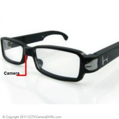 Camera Glasses - WHAT IS THE BEST HIDDEN CAMERA FOR YOUR HOME OR BUSINESS? CLICK HERE TO FIND OUT... http://www.spygearco.com/spy-cameras-with-audio.php