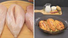 Cordon Bleu Recipe, Tasty Dishes, Super Easy, Main Dishes, Chicken Recipes, Snacks, Dinner, Shorts, Youtube
