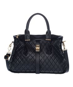 Take a look at this Black Desirae Tote on zulily today!