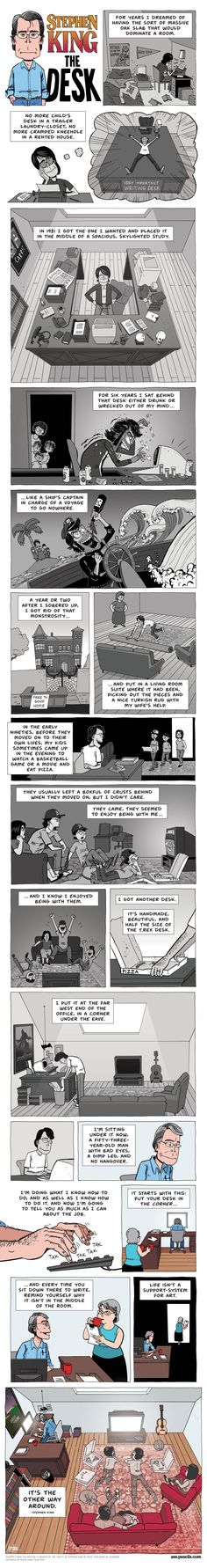 Stephen King on Life and Art #memes