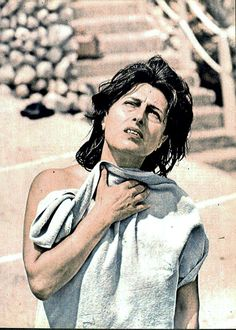 Anna Magnani Anna Magnani, Open My Eyes, Italian Beauty, Color Photography, Classic Hollywood, Golden Age, Persona, Divas, Theatre