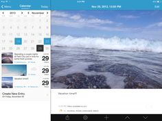 Day One - Calendar split view controller