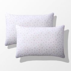 Azela Pack of 2 Baby's Star Print Cotton Pillowcases