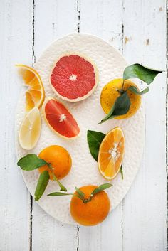 """I love that citrus is """"in season"""" in winter . . . not here of course."""