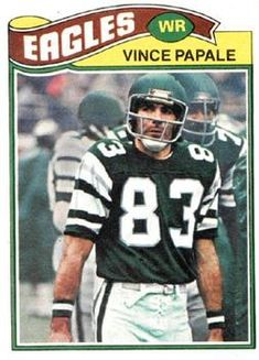 1977 Topps #397 Vince Papale