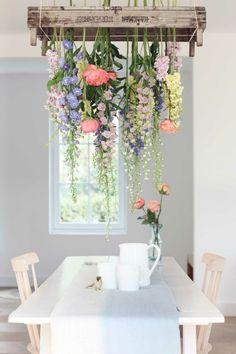 Lustre Floral, Interior And Exterior, Home Interior Design, Bakery Interior, Interior Ideas, Vintage Interior Design, Luxury Interior, Home Design, Kitchen Interior