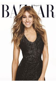 October+2015+Cover:+SJP+in+Black+and+White - HarpersBAZAAR.com
