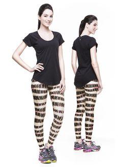 Printed Legging Legging Gel Gel V14 V14 Lycra Beach Stamped - ELASTIC WOMAN