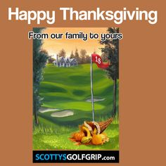 Learn the amazing Scotty Robertson Golf Grip Happy Thanksgiving, Learning, Amazing, Happy Thanksgiving Day, Studying, Teaching, Onderwijs