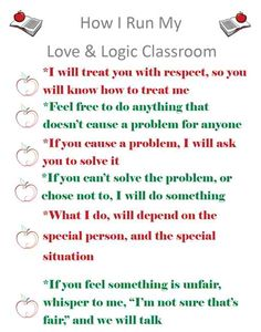 I'm a love and logic gal! After having Stella I listened to the CDs again as a refresher. This is great for both teachers and parents