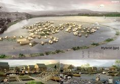 Eleven is pleased to announce the winners and awarded entries for its international ideas and design competition Cambodia Protect Respect Empower. The competition (Eleven's first) calle… Architecture Presentation Board, Presentation Layout, Presentation Boards, Floating Architecture, Classical Architecture, Green Architecture, Active Design, Tonle Sap, Bamboo Structure