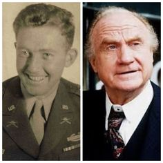 Jack Warden-Navy and Army-WW2-a member of the 101st Airborne