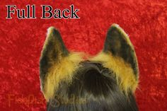Flexi Fox Ear Headband  vulpine fox foxy Ears by FishPishStudios