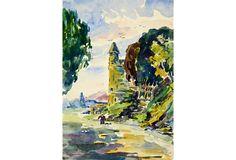 French Belfry, C. 1950 on OneKingsLane.com