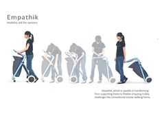 Empathik Mobility Aid for Seniors- Interesting. I wonder how light they are
