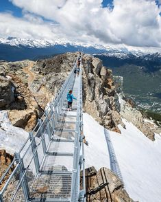 Canada's New Suspension Bridge In British Columbia Is One Of The Highest Elevation Bridges In The World - Narcity Oh The Places You'll Go, Places To Travel, Travel Destinations, Places To Visit, Vancouver Travel, Canadian Travel, Suspension Bridge, Travel Goals, British Columbia