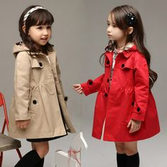 Cheap jacket chiffon, Buy Quality jackets snow directly from China jacket beige Suppliers: [Little Beauty] Spring girls trench coat children coat Hoodies Long outwear kids jackets Plaid casual fashion jacket