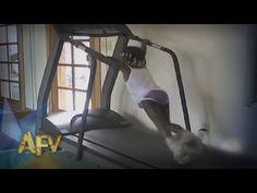 Best Treadmill Fails | AFV Music Compilation | AFV