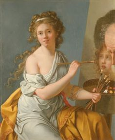 Marie-Guillemine Benoist, Self-Portrait, 1790