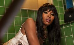 "Claudia (Naomi Campbell) has an unfortunate accident while in her room during episode 3 of ""American Horror Story: Hotel."" Description from ibtimes.com. I searched for this on bing.com/images"