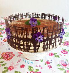 Chokladmocka tårta