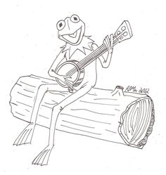 pictures of frogs with crown to color and print Coloring pages
