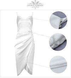 Color : White Style : Sexy & Club Material : Polyester, Spandex Occasion : Evening Party, Nightclub, Cocktail, Runway The post Fashion Draped Sexy Spaghetti Strap Club Party Dress appeared first on TD Mercado.