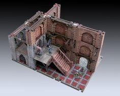 Modular Underground Project - New Gothic Elements by manorhouseworksop