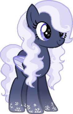 MLP: This is Minty White... She's a Pegasi Pony...