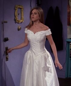 Rachel Green's wedding dress from Friends