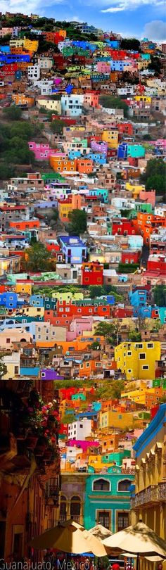 GORGEOUS colors and patterns in Guanajuato, Mexico.