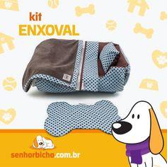 Kit Enxoval Pet   Cobertor Pet   Lençol Pet   Tapete Comedouro Pet   Senhor Bicho
