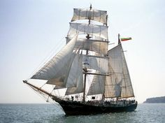 Bulgarian Navy sail training barquentine Kaliakra