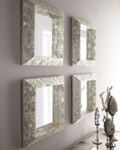 I like this mirror collection
