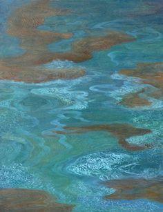 Odyssey of Time | by Laurie McKeon #LaurieMcKeon  #Acrylic #CedarStreetGalleries